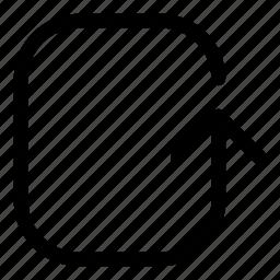 arrows, basic, r, refresh, rotate icon