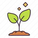 plant, ecology, environment, grow, leaves, green, tree icon
