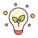 ecology, environment, growth, idea, plant, thinking, trees icon