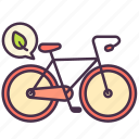 ecology, leaf, save, environment, vehicle, transport, bicycle