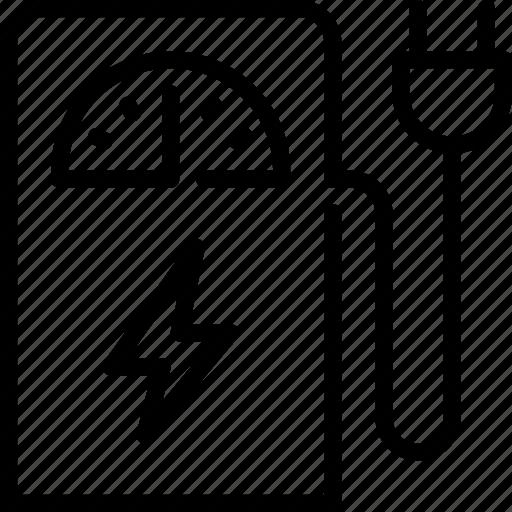 biodisel, ecology, electro, pump icon