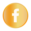 chat, communication, facebook, golden, popular, social icon