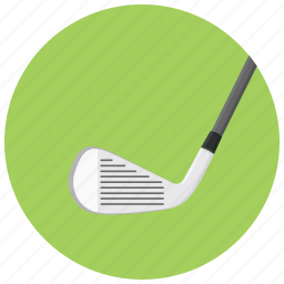 golf, golf equipment, golf putter, play golf icon
