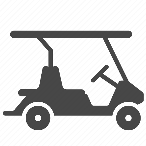 car, golf, golf cart, transport, vehicle icon