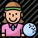 club, equipment, gear, golf, golfing, player, sports icon