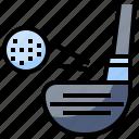 ball, birdie, competition, golf, iron, leisure, sports