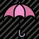 protection, rain, rainy, umbrella, umbrellas, weather icon