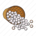 ball, basket, equipment, golf, hobby, sport icon