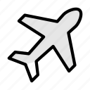airplane, tour, flight, travel, luxury
