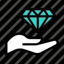 diamond, gem, luxury, goldlife, hand