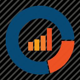analytics, big data, bigdata, chart, finance, indicators, market, monitoring, report, stock portfolio, stocks, summary icon