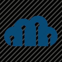 backup, big data, bigdata, capacity, claster, cloud, cloud computing, collect, computing, connect, data, data warehouse, datenbank, drive, network, share, sharing icon