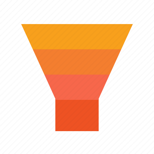 analytics, business, economics, filter, finance, funnel, sales icon