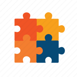 assembling, assembly, collect, component, components, implement, jigsaw, parts, pieces, prototype, puzzle, realize, solution, sophisticated, structure, together icon