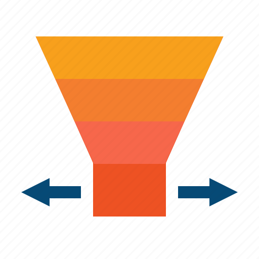 conversion, funnel, increase, leads, loyalty, optimization, sales, seo, traffic icon