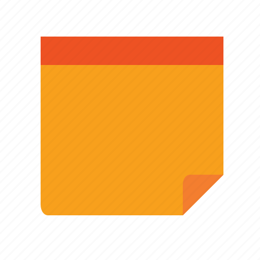 agile, draft, notepad, notice, reminder, scrum, sticker, sticky, sticky label, yellow icon