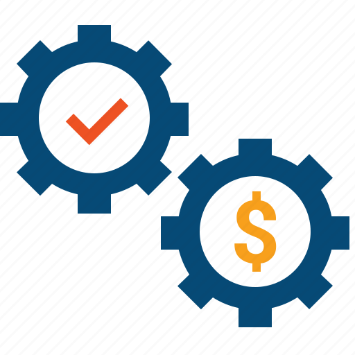 accounting, costs, effectiveness, efficiency, expenses, management, money, optimization, optimize, performance, productivity, referral, resources, spend icon