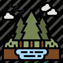 forest, tree, nature, woodland, landscape