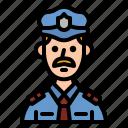 police, policeman, guard, man, guardian