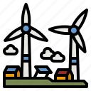 windmill, ecology, environment, electric