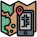 destinations, itinerary, location, maps, tourism, travel icon