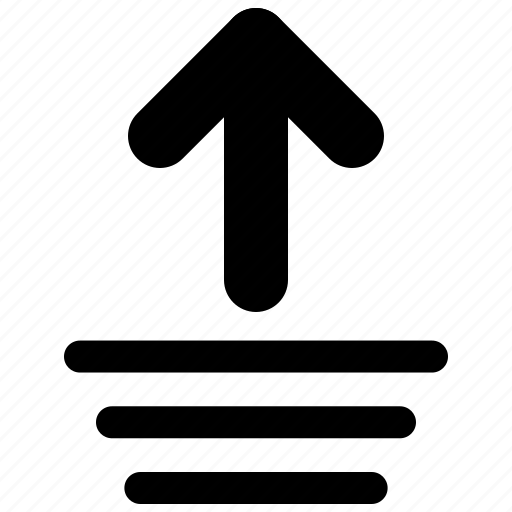 arrow, ascending, layers, top, up icon