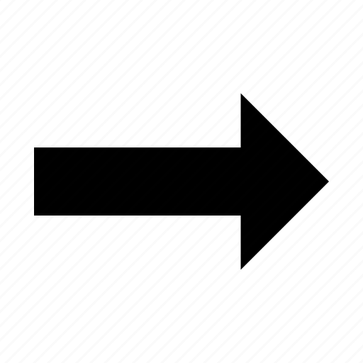 arrow, direction, right, ways icon