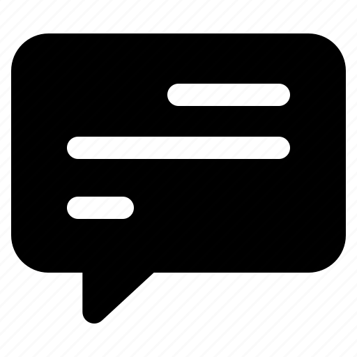 chat, communication, conversation, message, reply icon