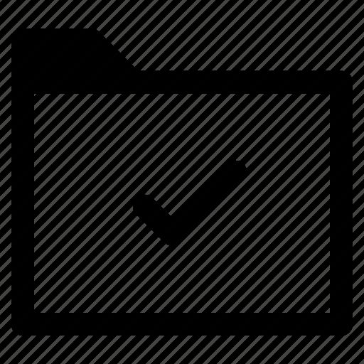 archive, file, folder, success, transfer, verified icon