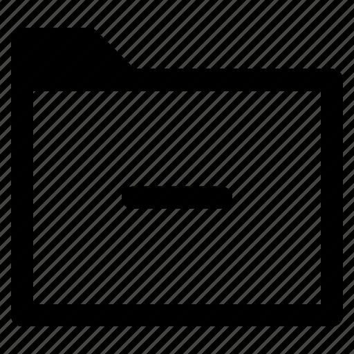 archive, file, folder, remove icon