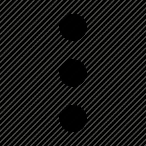 anchor, interface, menu, points icon