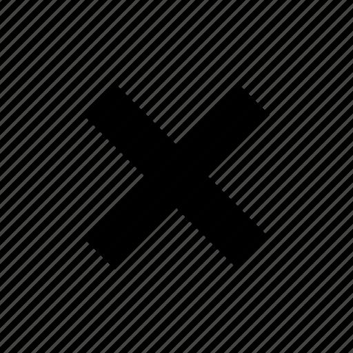 alphabet, delete, interface, x, x mark icon