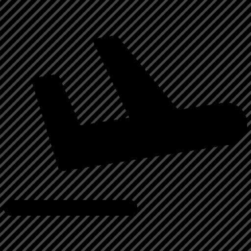 airport, departure, plane, travel icon