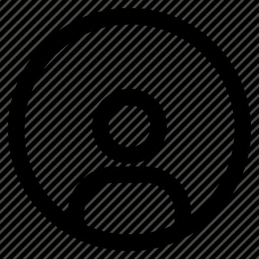 identity, information, person, profile, user icon