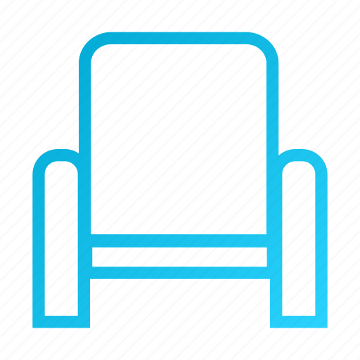 chair, furniture, home, house, office icon
