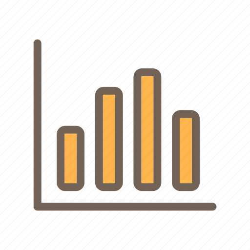 business, chart, diagram, finance, graph, industry icon