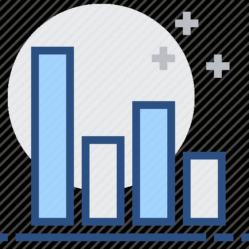 bar, chart, comparison, diagram, graph, report, statistics icon
