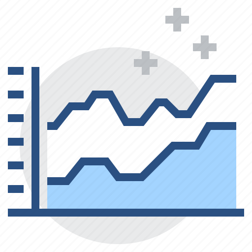 analytics, chart, comparison, diagram, graph, infographic, report icon
