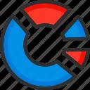 chart, circle, diagram, graph, schedule, statistics, stats icon
