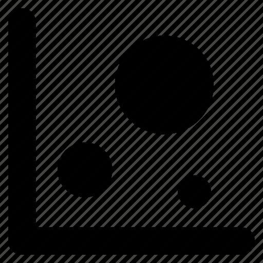 bubble, chart, graph icon