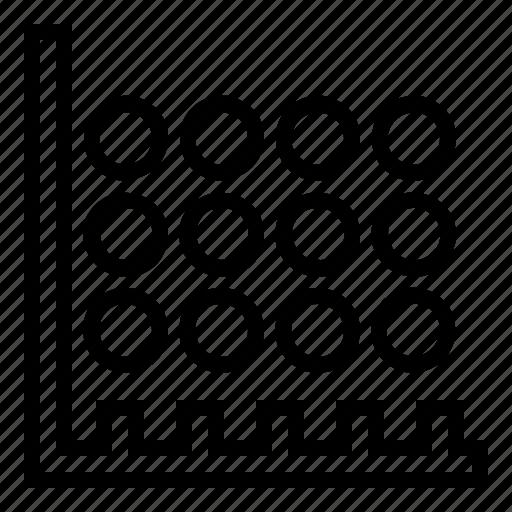 data, diagram, graph, statistic icon icon