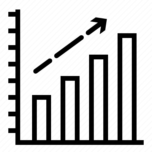 bar chart, chart, data, diagram, growth, increassing, report icon