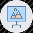 board, image, landscape, photo, photo edit, photography icon