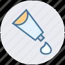 adhesive, effect, glue, glue bottle, graphic, gum bottle, tube icon