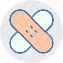 band aid, plaster, bandage, healthcare, injury, first aid icon