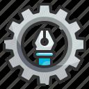 setting, maintenance, cog, web, tool