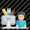 designer, graphic, design, freelance, creative
