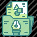 file, digital, graphic, design, tool