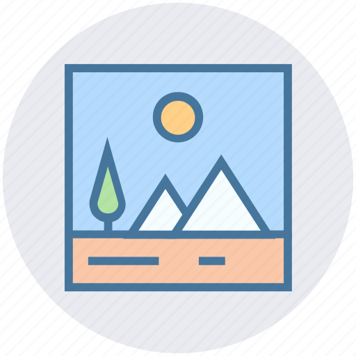 Art, image, landscape, photo, photography, picture icon - Download on Iconfinder