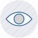 design, eye, find, graphic, toggle, tool, visibility icon
